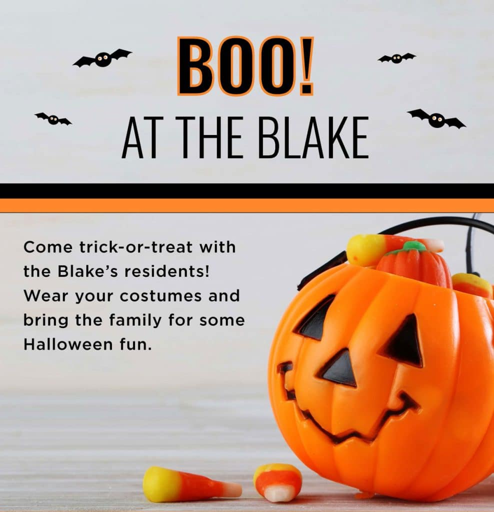 Boo at The Blake